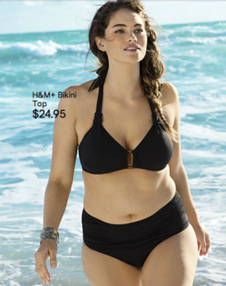 did h&m hide plus-size swimsuit model jennie? | the philly post