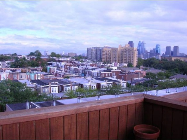 Views for days from Fairmount penthouse.