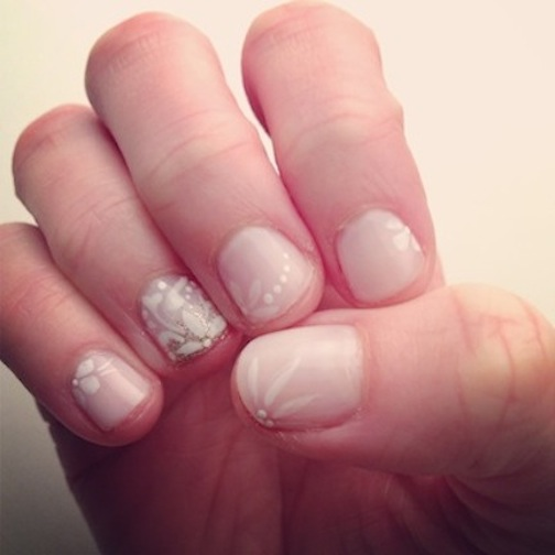 TREND: We're Loving Rescue Rittenhouse Spa's Bridal Nail Art