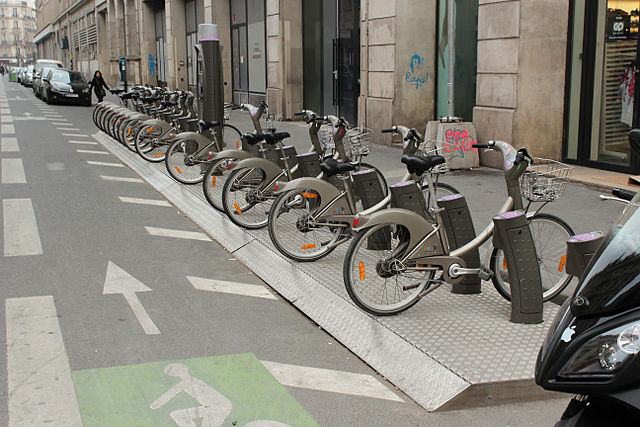 paris bike share