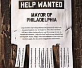Photo by Clint Blowers. Philadelphia is looking for a mayor already, even though the next election isn't for two years.