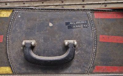 bronze foundry suitcase