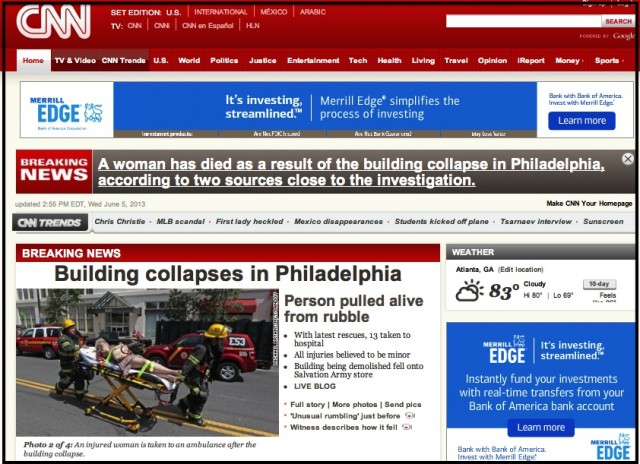 building collapse philadelphia