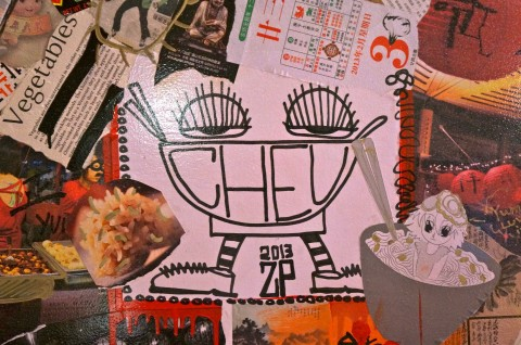 The Cheu mascot?