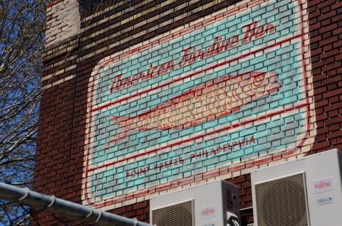 American Sardine Bar - Vintage Sign