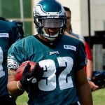 Philadelphia Eagles running back Chris Polk.