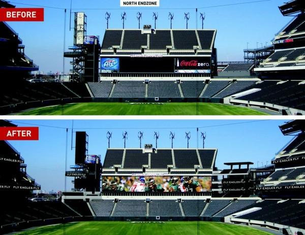 Eagles Unveil $125 Million Plan For the Linc – Philadelphia Magazine