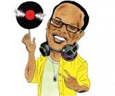 Illustration of Philadelphia DJ Jazzy Jeff by artist Andy Friedman.
