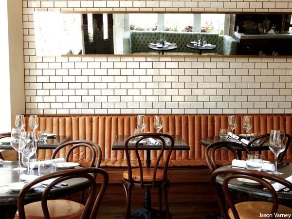 Fitler Dining Room restaurant in Philadelphia. Photograph by Jason Varney for the July 2013 issue of Philadelphia magazine.