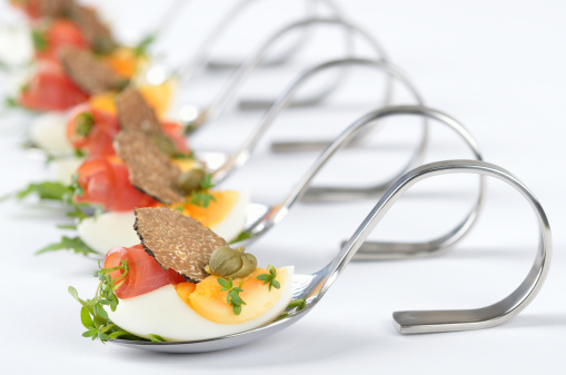 SLIDESHOW: 12 Super Popular Wedding Food Trends