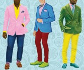 Men's fashion in Philadelphia is experiencing a renaissance. Illustration by Tim Gough.
