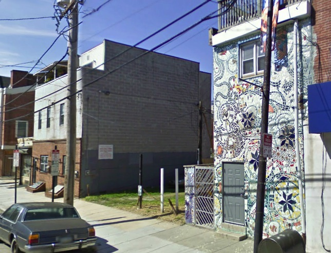 eighth street wall collapse
