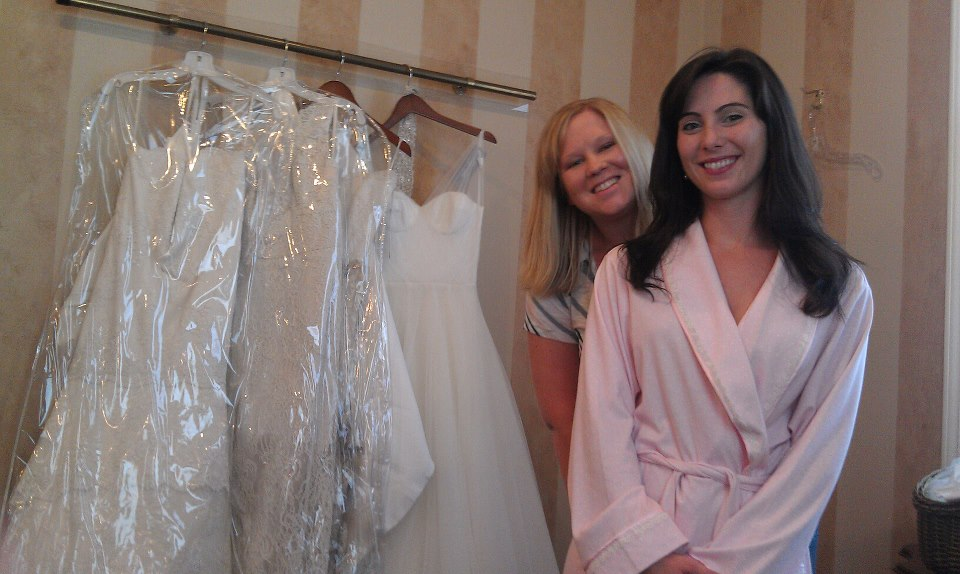 Bride-to-be Blogger Stephanie: My Second Dress Fitting (Oh, and Buying a House!)