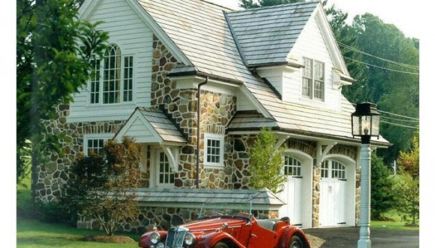 carriage-style garage