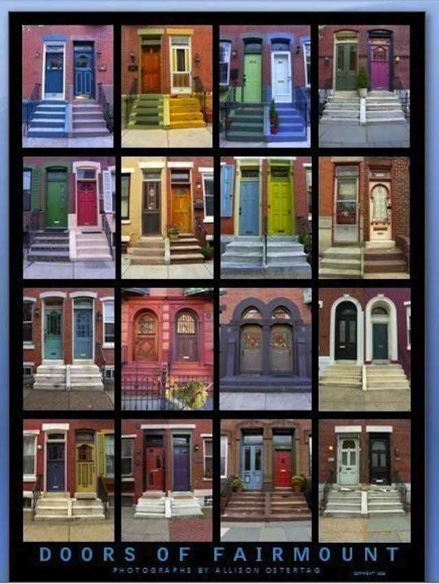 Doors of Fairmount Poster