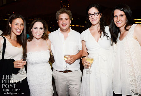 Laura Melnick, Michele Farber, Jake Markowitz, Rena Asher, and Naomi Wischnia
