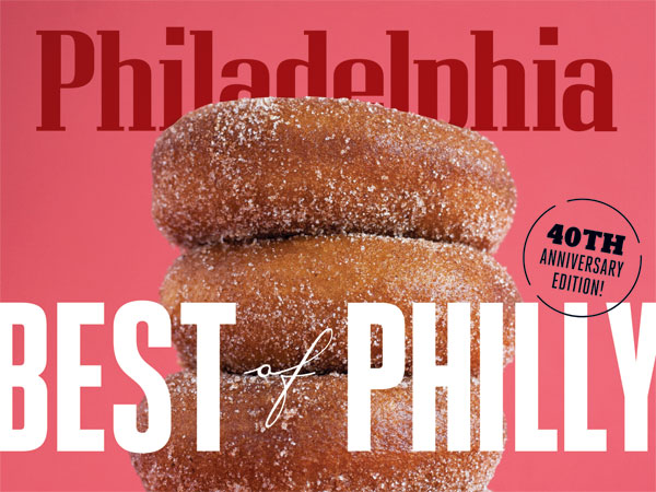 The cover of Philadelphia magazine's 40th edition of Best of Philly.