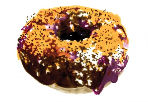 blueberry-muffin-donut