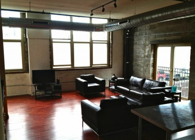 "This loft is very close to ""Philly's version of the Highline."""
