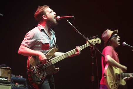 Dr. Dog's Toby Leaman at XPoNential Music Festival 2013