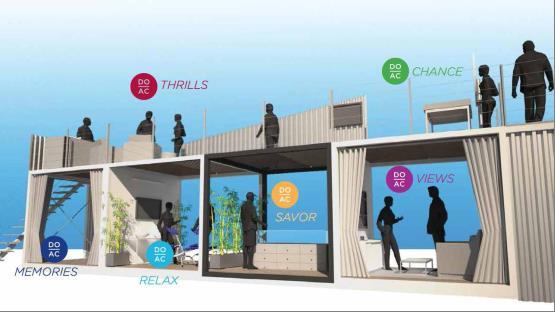 pop-up casino resort rendering