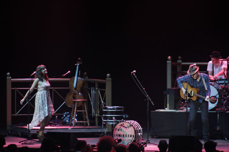 The Lumineers at XPoNential Music Festival 2013