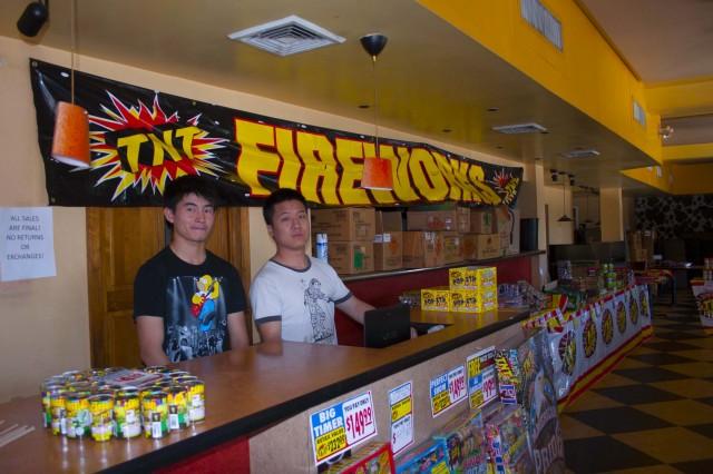 New fireworks store in Wynnewood