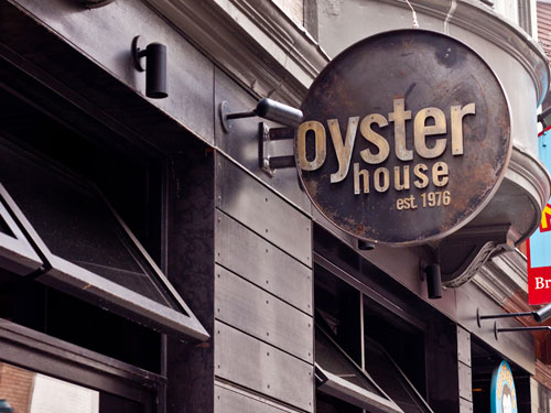 Awesome Oyster House Sign