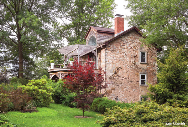 Eileen Tognini's Schuylkill County historic home.