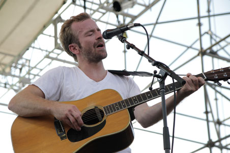Trampled by Turtles' Dave Simonett at XPoNential Music Festival