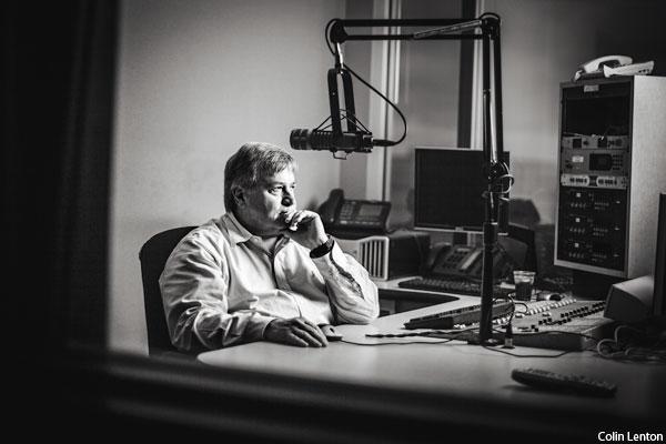 What is former Fox pundit Dick Morris doing on the radio in Philadelphia?