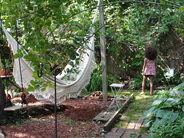 Northern Liberties backyard garden
