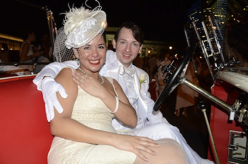 There Was a Proposal at Philly's Dîner En Blanc Last Night