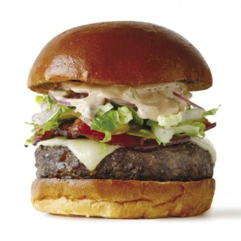 Best Gastropub Burger - The Dandelion | Photo by Jason Varney