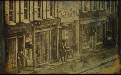 old photo chestnut street
