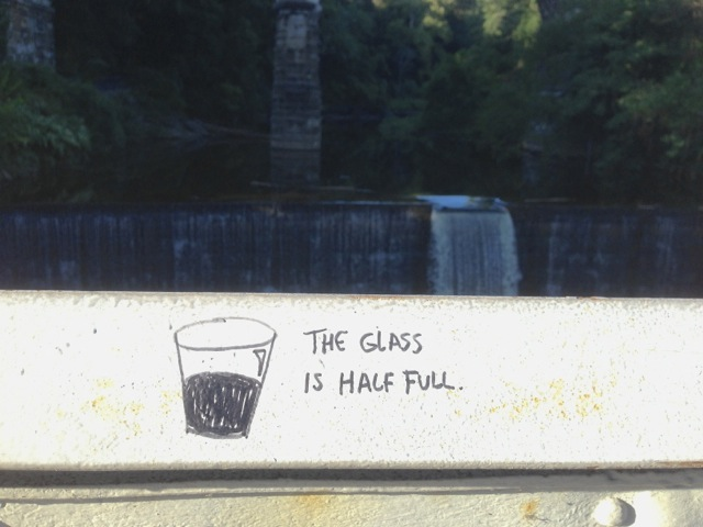 Written on a bridge over the Wissahickon.