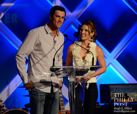 Hamels Foundation Diamonds and Denim, Cole and Heidi Hamels