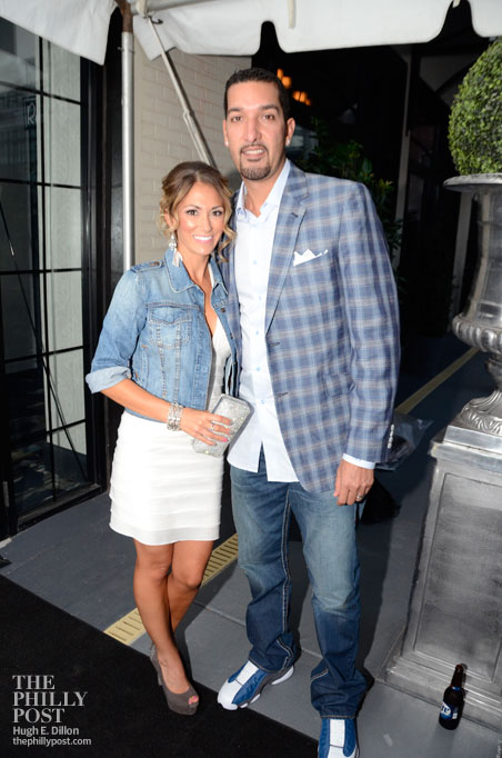 Hamels Foundation's Fourth Annual Diamonds and Denim, Shelly and Mike Adams