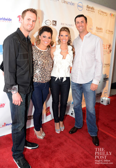 Hamels Foundation Diamonds and Denim, Kyle and Stephanie Kendrick, Heidi and Cole Hamels
