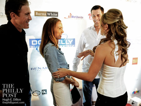 Hamels Foundation 4th Annual Diamonds and Denim, Chase and Jennifer Utley, Cole and Heidi Hamels