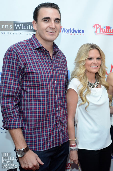 The Hamels Foundation's 4th annual Diamonds and Denim, John and Maryanne Lannan