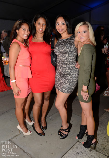 Jennifer Nunez, Stephanie Reaves, Aaliyah Pinkerton and Nicole Paul