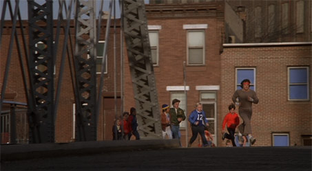 how far did rocky go in his training run in rocky ii the philly post. Black Bedroom Furniture Sets. Home Design Ideas