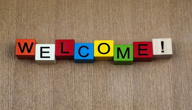 PW-welcome sign shutterstock