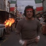 Rocky runs through Italian Market