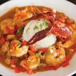 Shrimp and crawfish etouffee at Carmine's Creole Cafe Act II