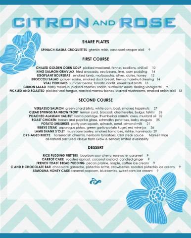 citron&rose-menu