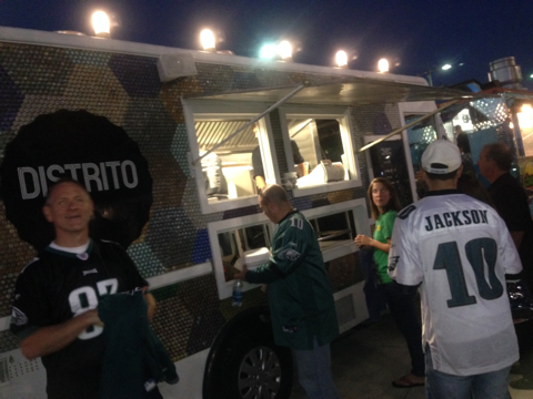 Distrito Taco Truck at Lincoln Financial Field