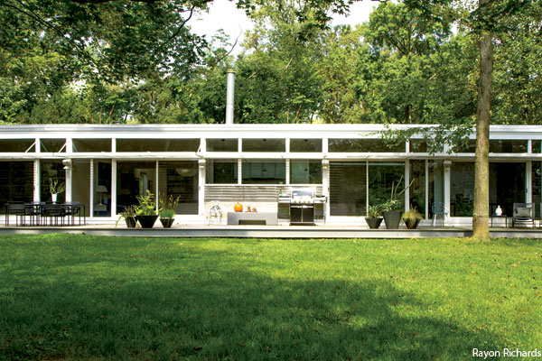 Philadelphia Home: A Mid-Century Modern with a View in Lower Merion ...