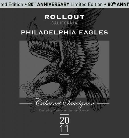 Philadelphia Eagles - Rollout Cabernet Sauvingnon
